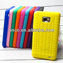 Tyre silicone soft case cover For Samsung Galaxy S2 SII i9100