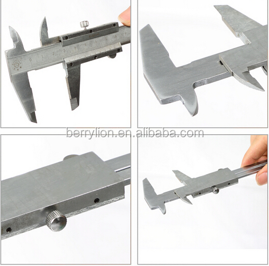 Mini type stainless steel vernier calipers, useful measuring tools