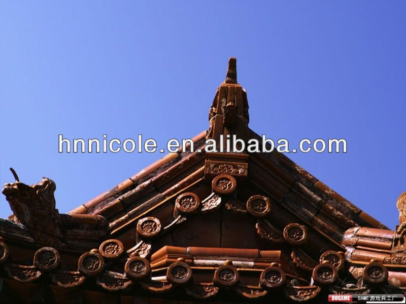 Chinese style roof ridge tiles for palace& museum & gazebo &pavilion