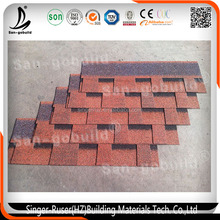 New Roof Designs Building Material 3 Tab Roofing Tiles Asphalt Shingles in Hot Selling