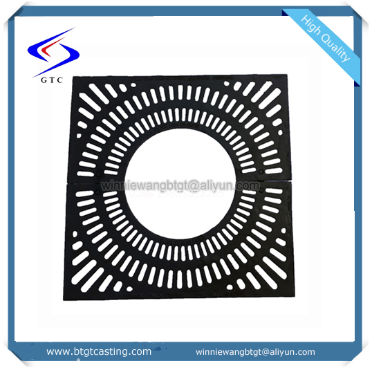 China factory sale ductile cast iron galvanized tree grating