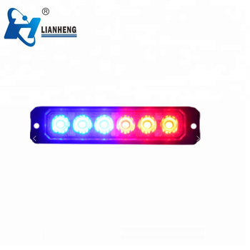 Ultra-thin LED models Grille Surface mounted strobe light 18W mini warning safety lights