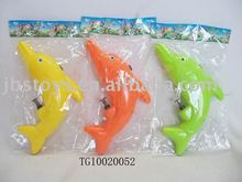 Hot selling kids funny dolphin water gun toy for summer