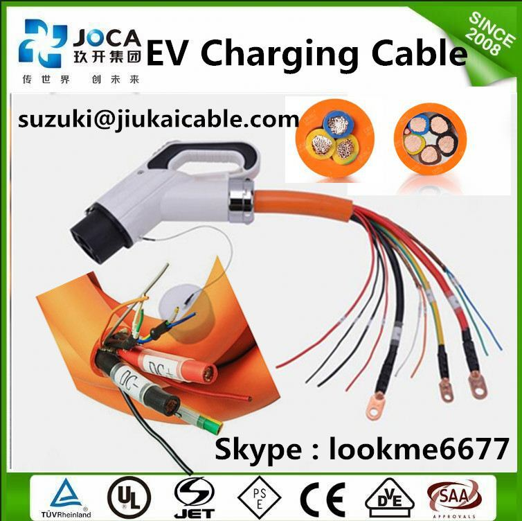 EV cable Ev Cables Electric Lamp Holder Vehicles Charging Coupler