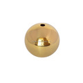Drilled 2 inch H62 Polished Brass Hollow Ball