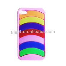 2015 hot selling cell phone silicon mobile phone flip case