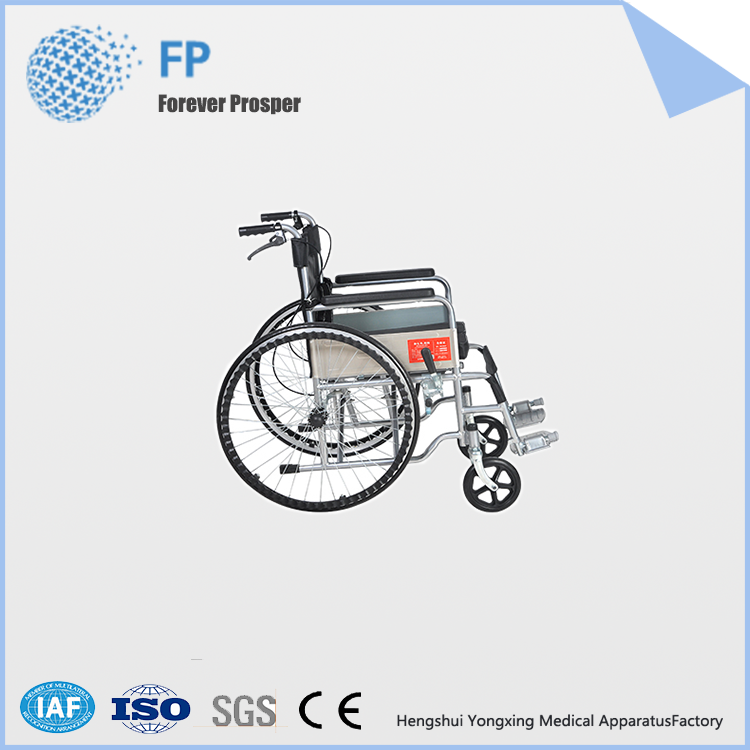 YongXing F01wholesale portable wheelchair used hospital wheelchair ramp
