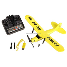 HL-803 RC Remote Control Helicopter Plane Glider EPP Foam 2CH 2.4G Toys