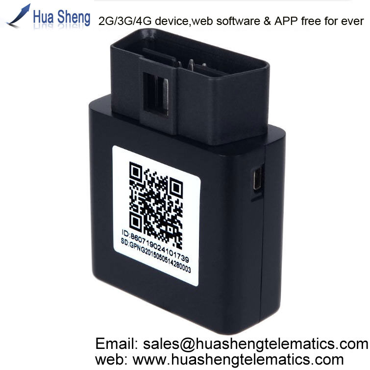gps tracker localizador with internal antenna [2G, 3G, 4G] with fuel level reading