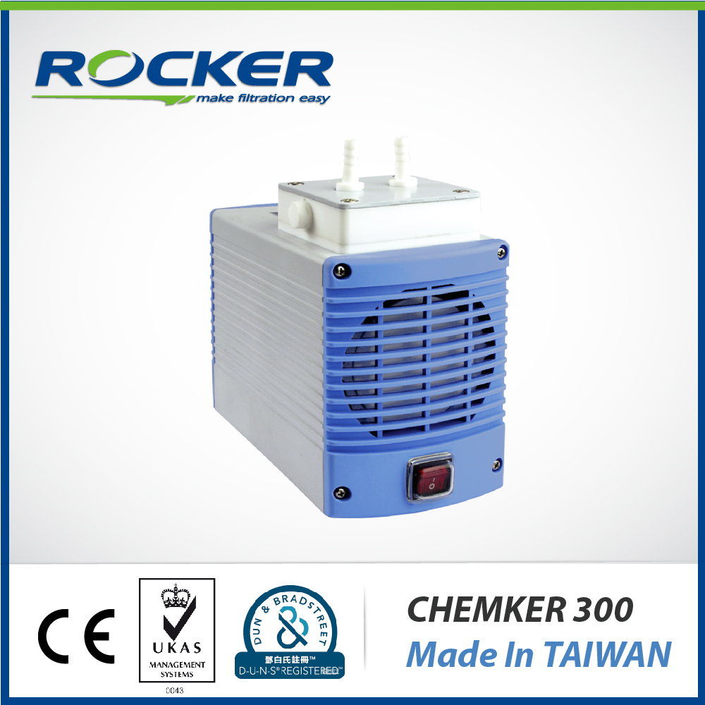 Rocker Scientific Chemker 300 Oil-Free Chemical Resistant Vacuum Pump