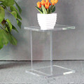 fashion luxury clear small lucite acrylic desk small table