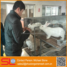 metal anticollision modula rabbit breeding cage, economical small steel bar collapsible pet cage ,expanded double cheap cage .