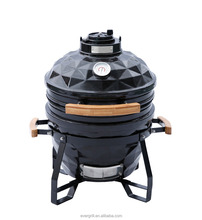 15 Inch harcoal smoke freInch Ce bbq grill portable bbq grill /chicken grill machine(Diamond)