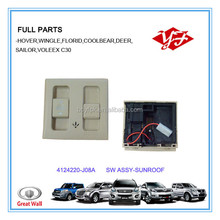 4124220-J08A for Great wall voleex C30 sunroof switch