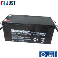 Safe power 12v 200ah ups deep cycle solar batteries for price