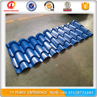 To UK Automatic Glazed Roof Tile Roll Forming Machine