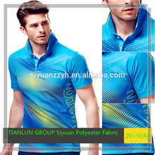 100%polyester sports clothing single jersey fabric
