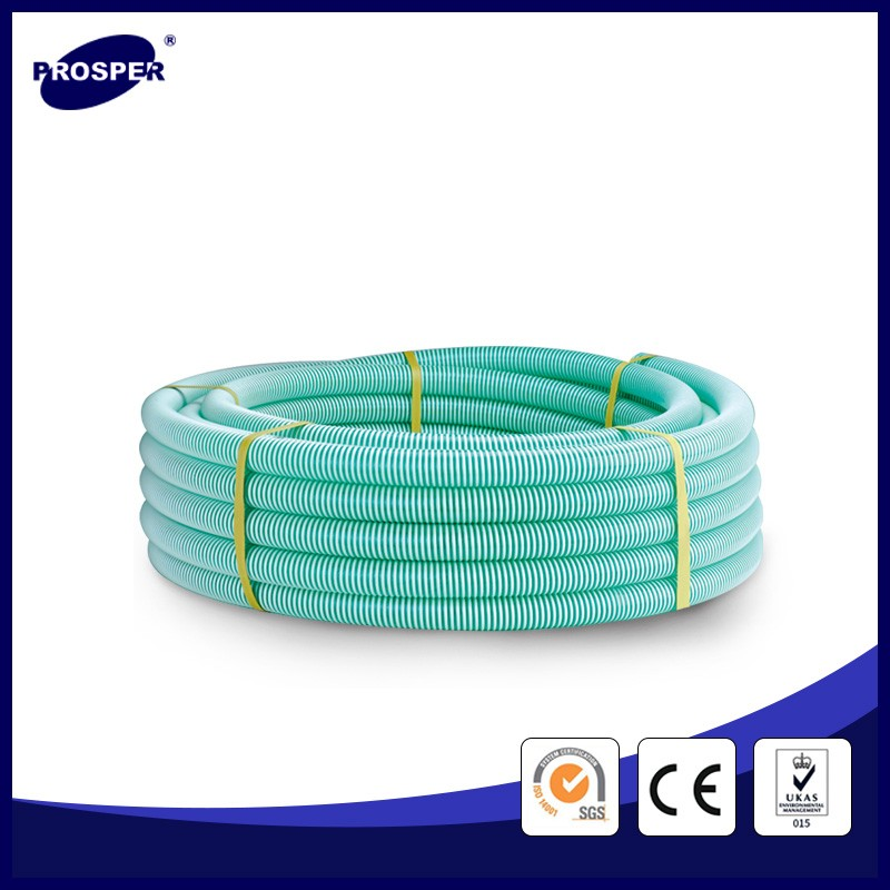 spiral pvc suction hose pipe with helix
