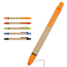 INTERWELL BP5048 Promotional Paper Pen, Personalized Stylus Eco Friendly Paper Pen