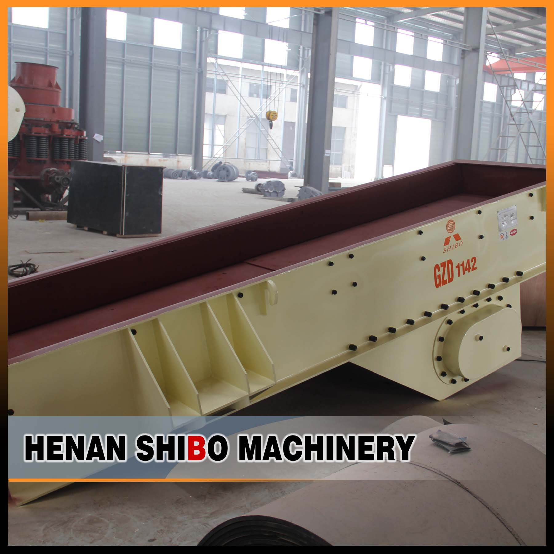 Hot sell vibrating swaying feeder used for ore feeding