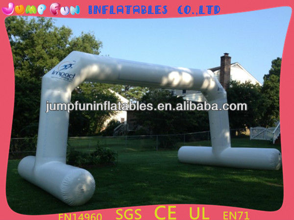 Aqua sports inflatable water arch with LOGO