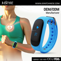 J-style OEM&ODM Wireless Sport Heart Rate Monitor with Optical Sensor cheap step counter