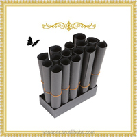 Hot sell black christmas wrapping box paper mill