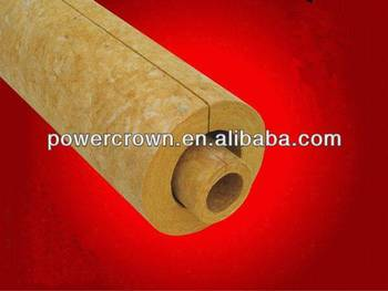 fireproof mineral wool pipe insulation/mineral wool insulation density price