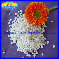Factory Price White Corundum Glass Manufacturing Raw Material