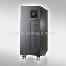 High frequency online ups with internal batteries 6kva