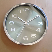 EASTPRO High quality metal stainless steel wall clock with aluminum dial