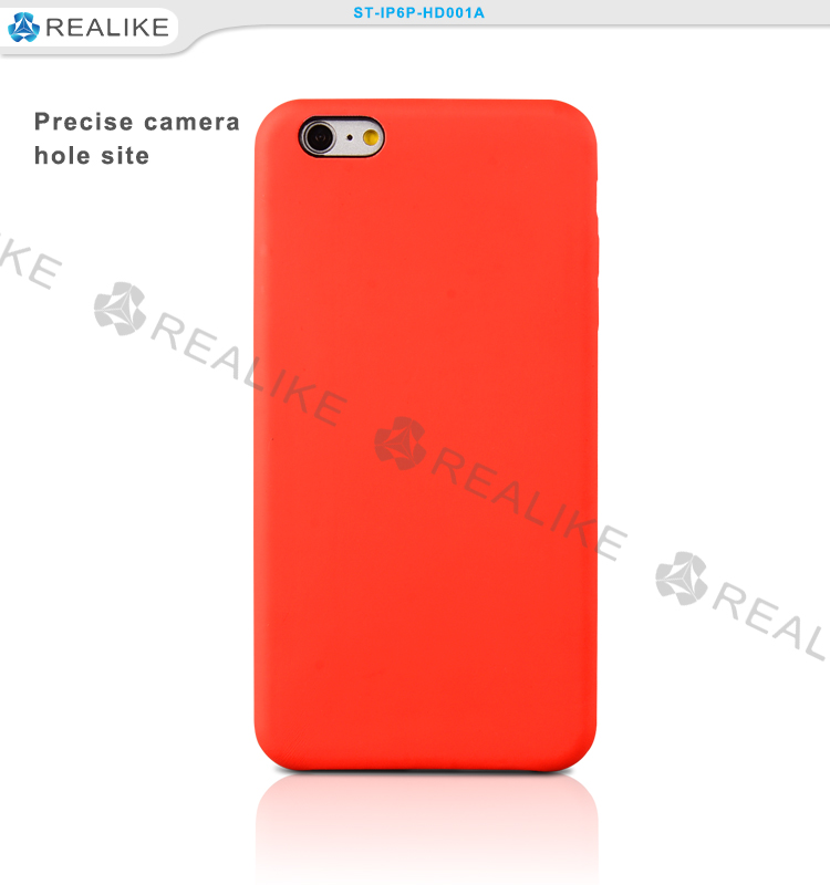 Bright color red hard pc original case for iphone 6 , for apple original
