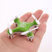 Only 4cm mini Cheerson CX-10 2.4G 4CH 6 Axis LED fpv model airplane