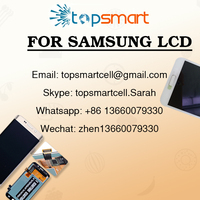 Fast delivery touch lcd screen for samsung note4