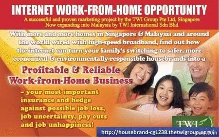 Internet Work-From-Home Business Opportunity