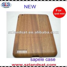100% hand-made natural wood case for ipad mini IBC22