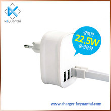 4.5a 4 usb charger station for restaurant,5v 2.4a usb charger