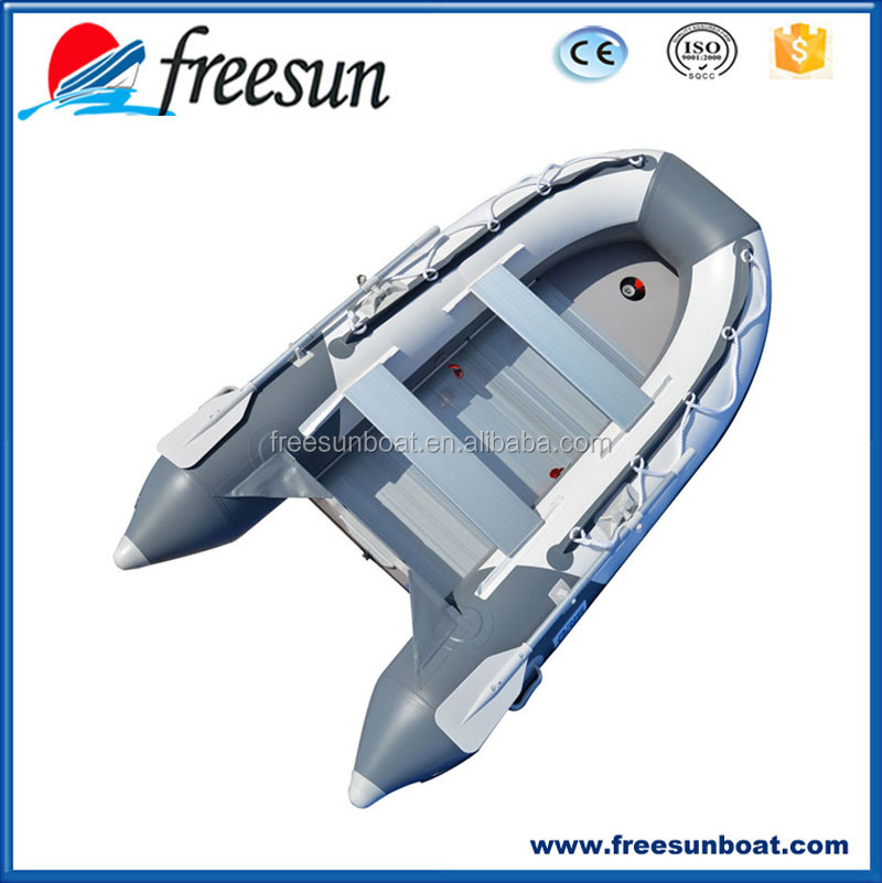 10 ft Yacht Tender Fishing Raft Inflatable Boat Inflatable Dinghy Boat Rubber Boat
