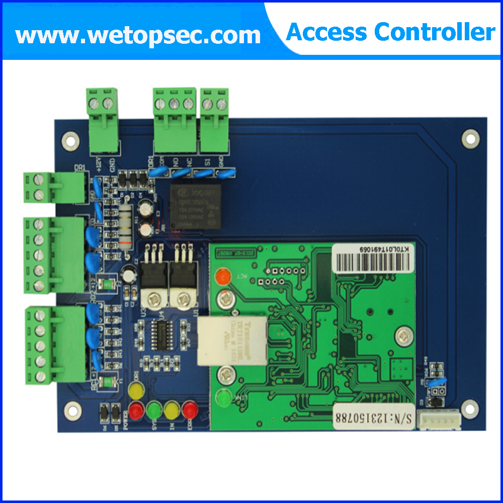 Single door TCP/IP Weigand interface Access Controller