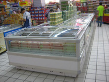 Combined Island Freezer/ Supermarket Deep Freezer