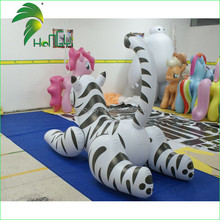 Custom inflatable tiger model, advertising PVC inflatable tiger cartoon model