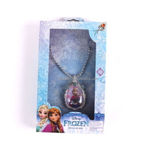 2016 New Design Frozen Elsa Anna Plastic Beads Kids Necklace