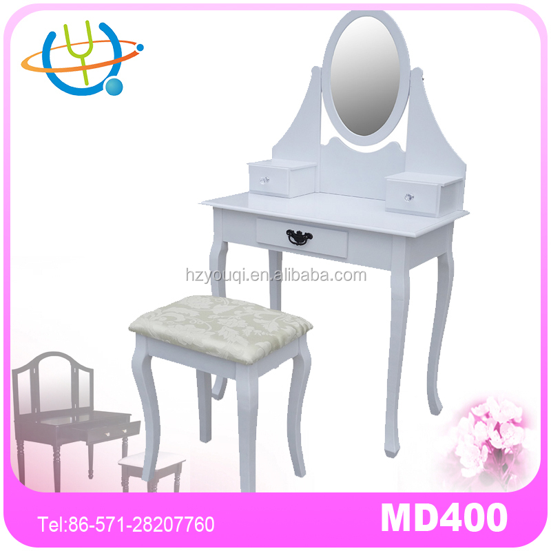 Fancy modern dressing table wall mirror new top bedroom furniture