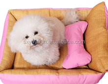Custom Cool Cute Cozy Soft dot Pet House For Small / Medium Dog pet / Puppy / Cat bed