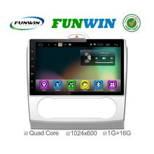 Funwin Android 4.4.2 car dvd player in dash radio cassette for Ford Focus 3G+WIFI Wifi&3G