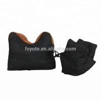 unfilled hunting arm rest support pair gun rest bag shooting sand bag