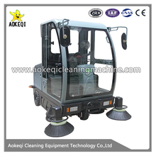OS-V5 whole sealing electronic sweeper rider sweeper machine