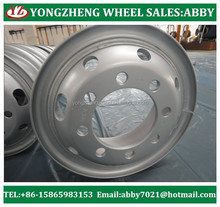 used truck steel wheel rims 7.5-20 for tyre 1000r20