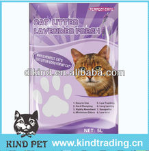 Sample free odor control, hard clumping cat toilet sand with fragrance
