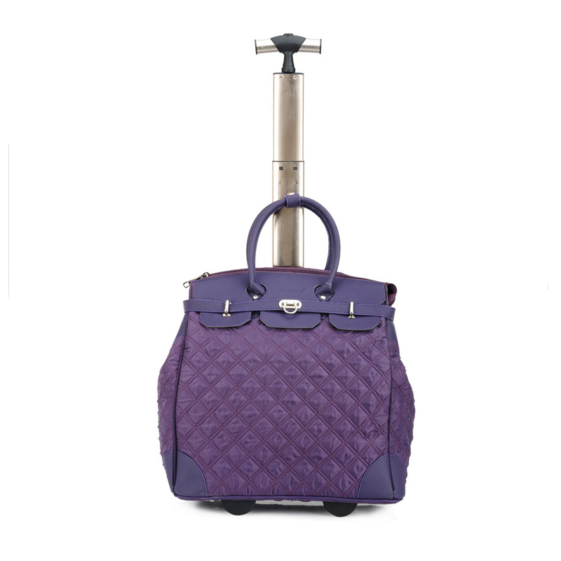 AKSM03 Women's New Products Duffle Bag Cheap Wholesale Travel Bag Aluminum Trolley Leisure Bag for Weekend Holiday